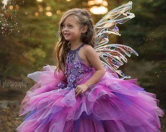 Alta costura Vestido de hada Esmeralda Tinkerbell por EllaDynae