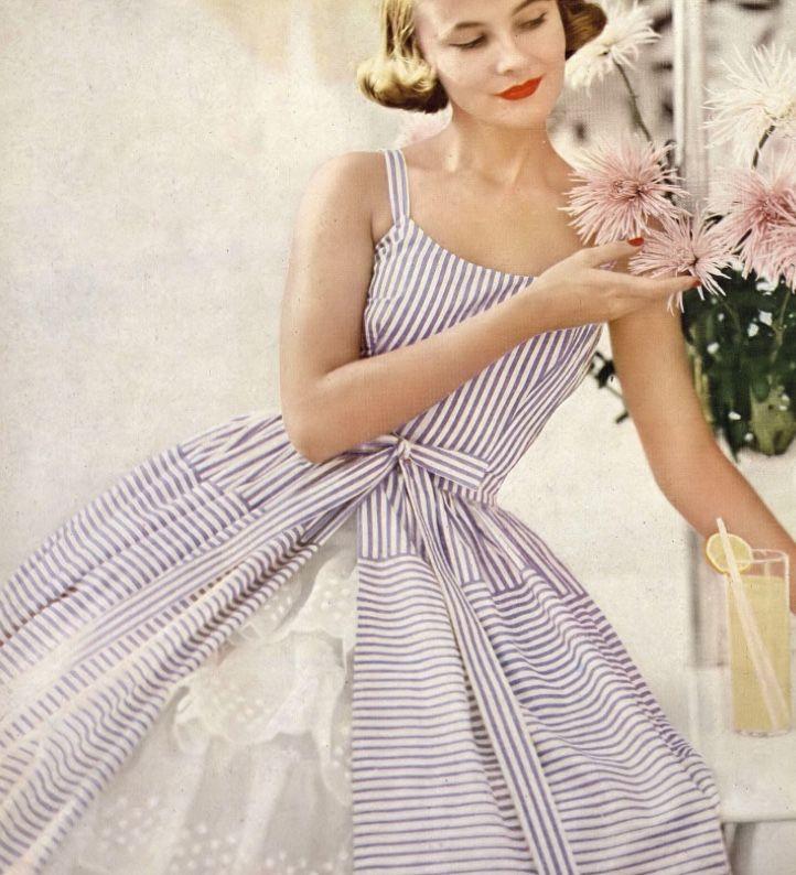 Ann Klem, photo by Lillian Bassman, Harper's Bazaar, January 1955