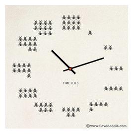 literally funny clock