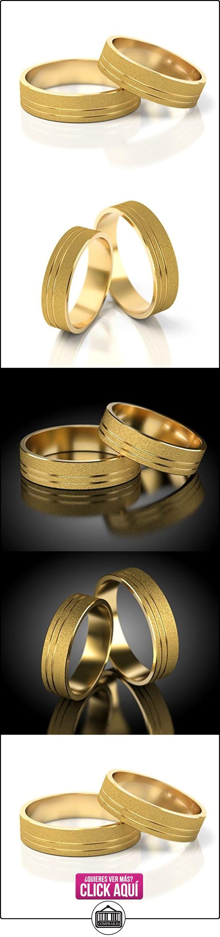 Anillos De Boda Oro amarillo 750_S-873  ✿ Joyas para hombres especiales - lujo ✿ ▬► Ver oferta: https://comprar.io/goto/B00L2RP9P6