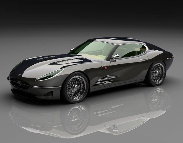 Lyonheart K - Robert Palm, in collaboration with Bo Zolland, has created the Lyonheart K, a new sports car that will be built in its entirety in England.