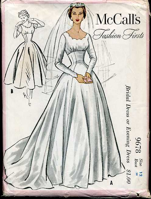 216 best Bridal Gown Patterns images on Pinterest | Bridal gowns ...