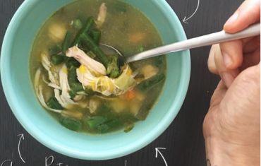 Realiza una buena sopa alta en nutrientes y muy saludable