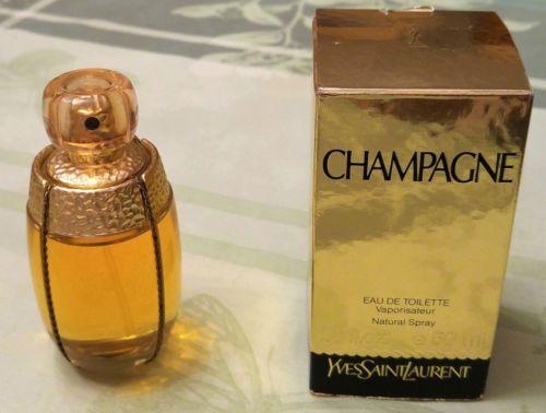 Beau-flacon-vaporisateur-Champagne-50-ml-YSL-Yves-Saint-Laurent-plein-intact