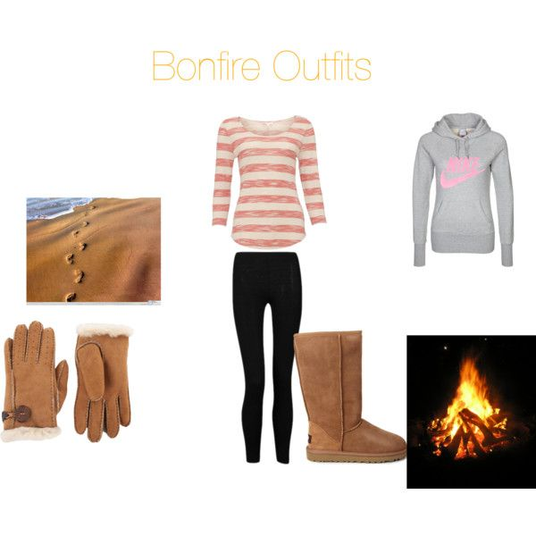 """""""Bonfire Outfits"""" by itateenagegirl on Polyvore"""