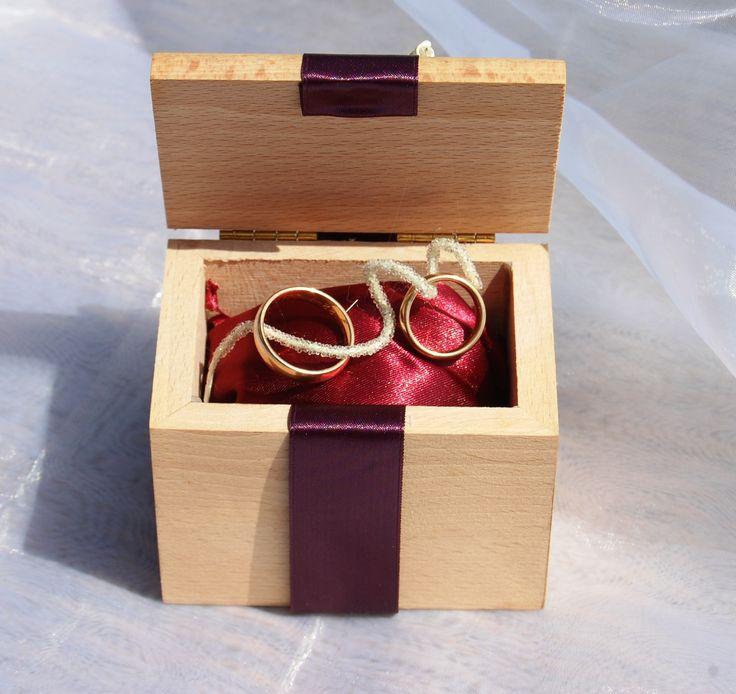 portafedi scatola legno (impronte sulle nuvole)