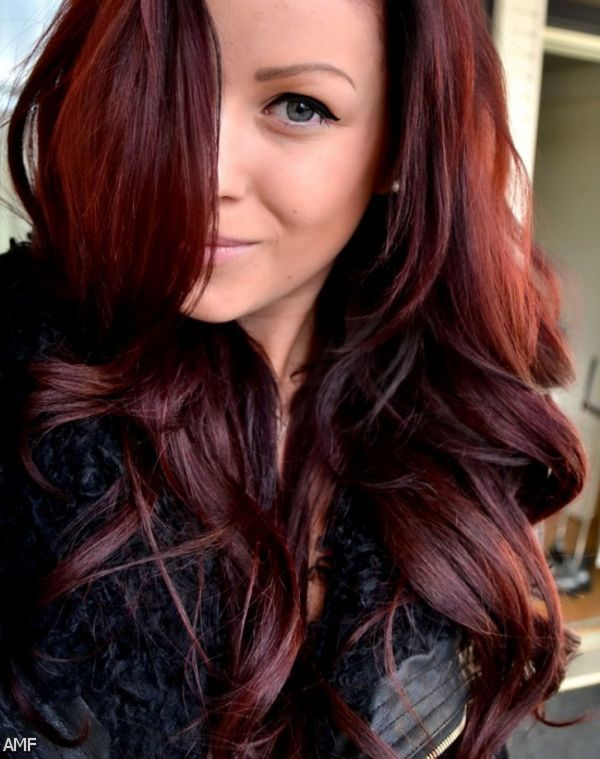 Deep reddish brown