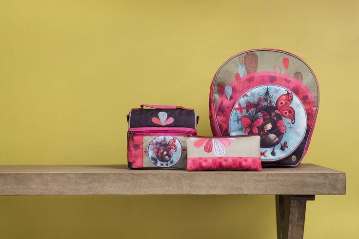La collection Fannie et ses Papillons de KETTO Fannie and her Butterflies