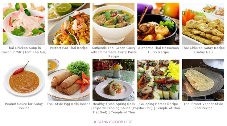 Top 10 Thai Recipes