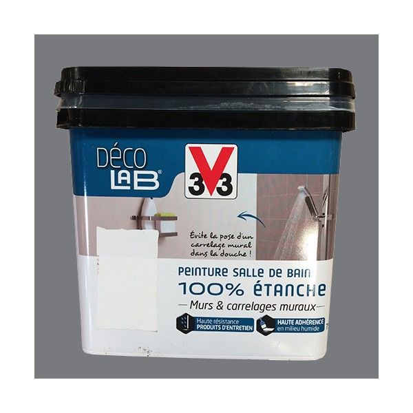 V33 Deco Lab Peinture Salle De Bain 100 Etanche Roche Peinture Salle De Bain Peinture Etanche Parement Mural