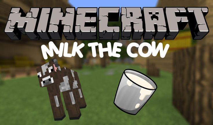 Minecraft Mini-Game: Milk The Cow
