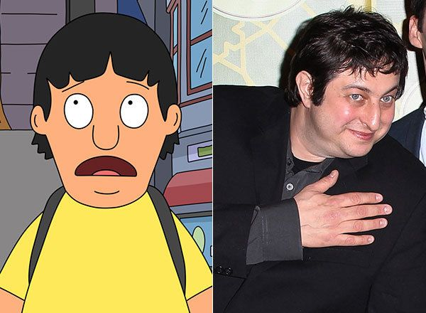 "Meet The Actors Who Voice Your Favorite Animated Families. Gene Belcher/Eugene Mirman Eugene Mirman voices Gene on ""Bob's Burgers."" Mirman's other credits include ""Flight of the Conchords"" and ""Archer."""