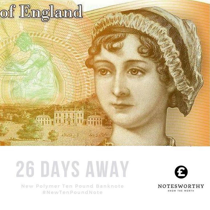 26 days till launch. #newtenpoundnote  Check out notesworthy.co.uk #linkinbio Use are #banknote value checker to find out the value of your #banknotes. We focusing on #english #polymer #papermoney. Like the #newfivepoundnote and the #newtenpoundnote. Visit our site now #collectors #hobby #collect #pounds #gbp #Churchill #janeausten #bankofengland #notesworthy