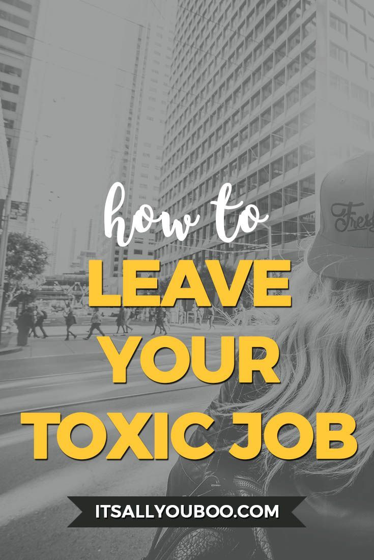 Do you hate your job and need a career change? Or do you work in a toxic work environment? Click here for the 4 steps you need to take to escape your toxic workplace.