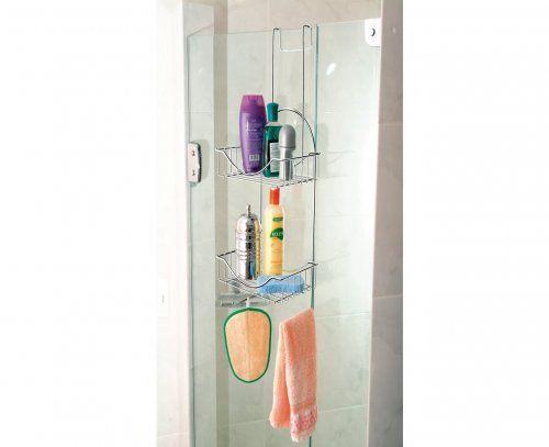 Suporte de Box para shampoo e utensílios para banho - Banheiro / Suportes para shampoo e sabonete | Ordenato!