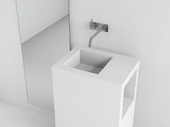 Console basin | Waschbecken freistehend de Absolut Bad | Meubles lavabos