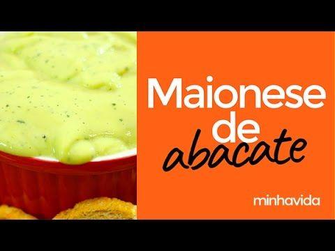 Maionese de abacate: prática de se fazer e deliciosa