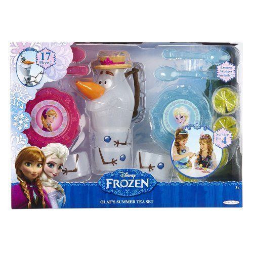 Disney Frozen Olaf Summer Tea Set 17 Piece Set #Disney