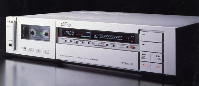 AKAI GX-F71  1982