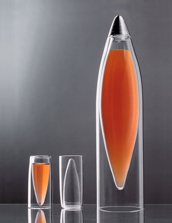 IceTap Carafe and Shot Glasses by LYX Furniture & Light
