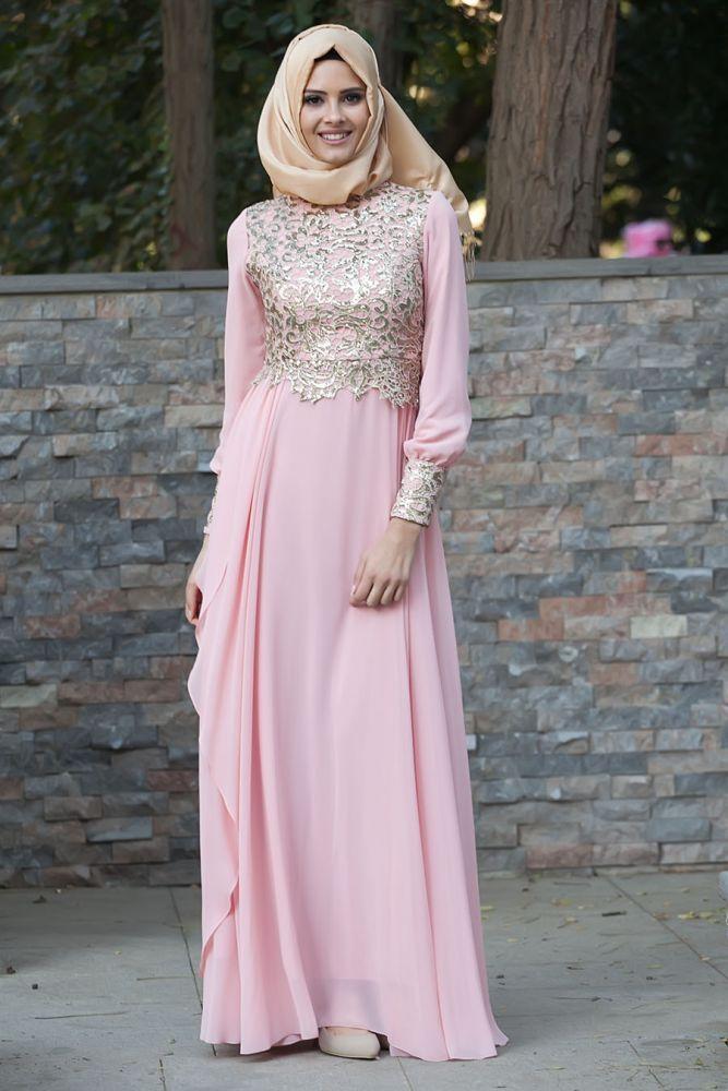 TESETTÜRLÜ ABİYE ELBİSELER - Evening Dress - Evening Dress - 2211SMN