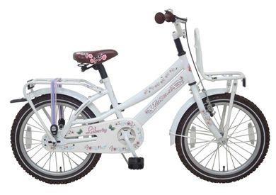Volare Liberty Urban Cruiser 18 inch meisjesfiets. Deze Liberty fiets heeft zeker de Wowww factor. De Volare Liberty serie loopt vanaf 16 inch tot 26 inch. Deze serie is uiterst modern, fris en top kwaliteit. De serie is verkrijgbaar in Wit, Roze of Mat rood. Elk modern meisje wil deze fiets!