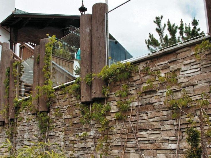 Rivestimento di facciata in pietra artificiale MONTEPANEL P12 Collezione Profilo PANNELLO by GEOPIETRA®