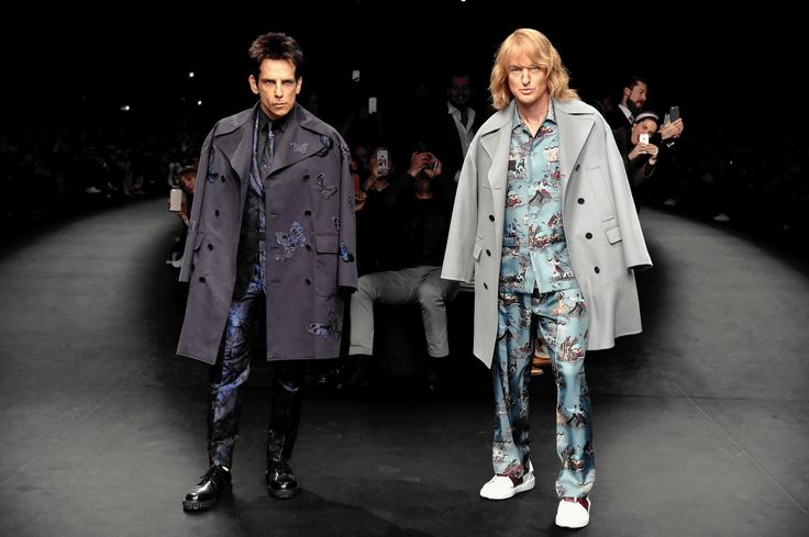 Fashion and movies strut the runway together.