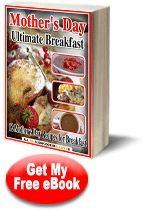 Free Mother's Day Breakfast Recipes eCookbook