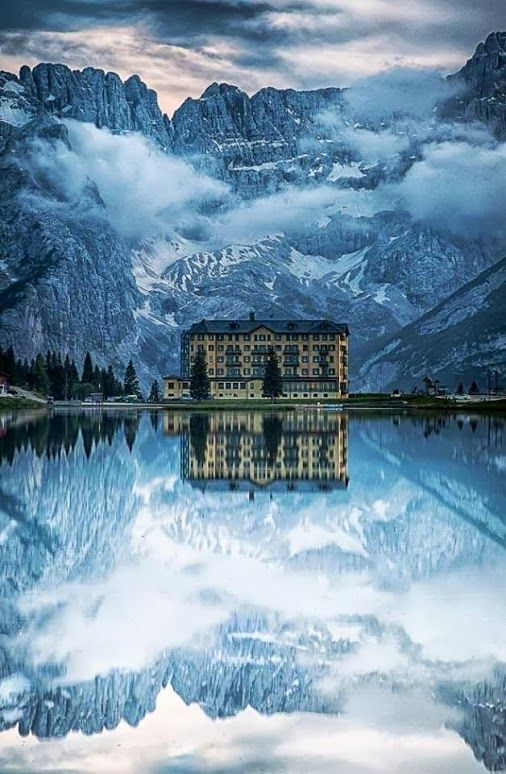 10,000 Places to See Before You Die - Google+ - Lake Misurina, Italy