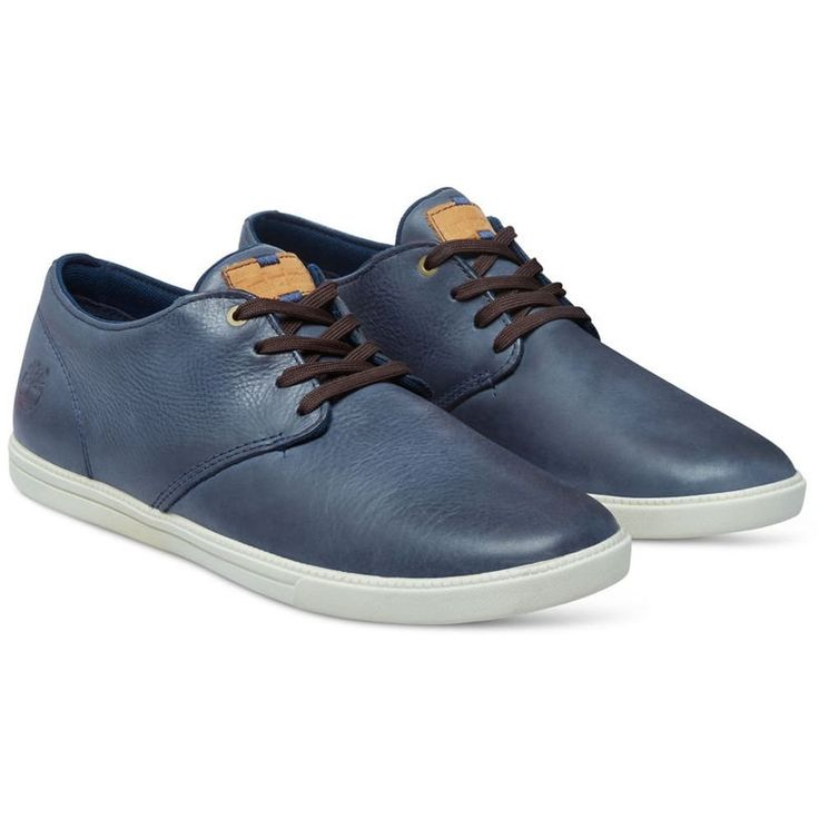 Timberland Fulk Low Profile Low Sneakers Men Leather 13 M US Navy Blue
