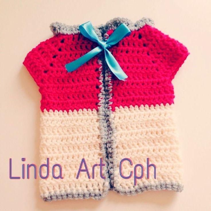 #crochet #baby #vest #cloth #københavn #copenhagen #yarn #garn