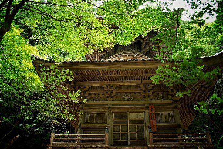 温泉寺(城崎):多宝塔