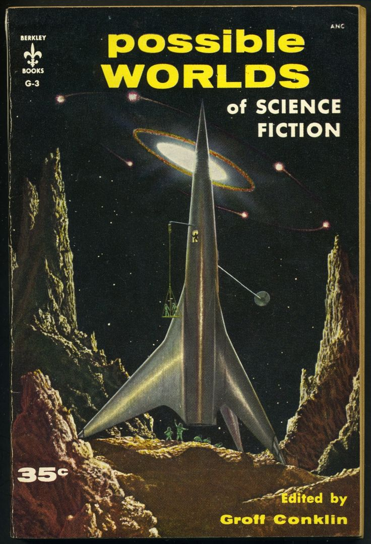 Possible Worlds of Science Fiction, Groff Conklin ed. (1955), cover artist unknown