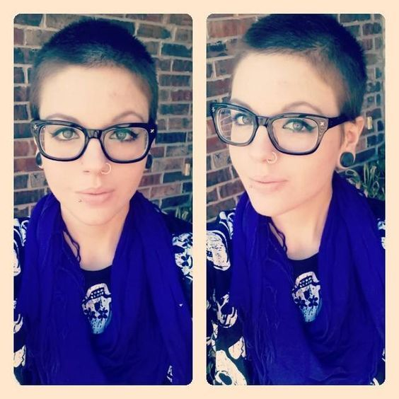 Buzzed hair, Shave my head and Eyebrow brush on Pinterest