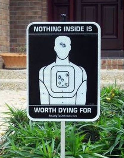Nothing inside is worth dying for