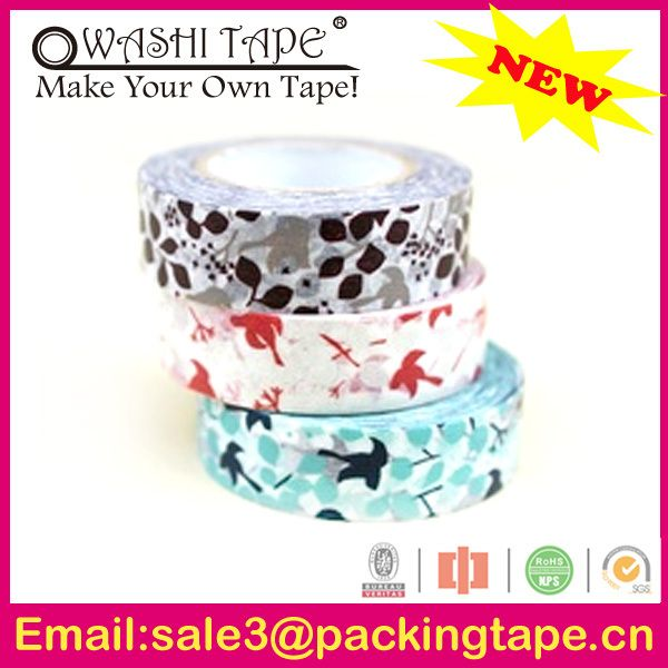 elegant japanese washi tape wholesale packing tape nail art,handmade writable paper tape with free samples offer