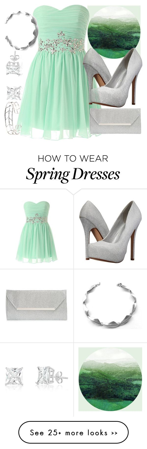 """A ~Minty~ Date"" by jlol on Polyvore"
