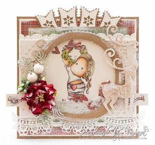 http://www.handmadebytamara.com/2016/11/holly-wreath-tilda.html