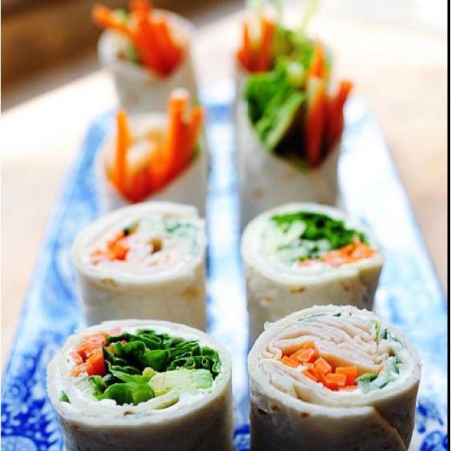 Turkey & veggie wrap