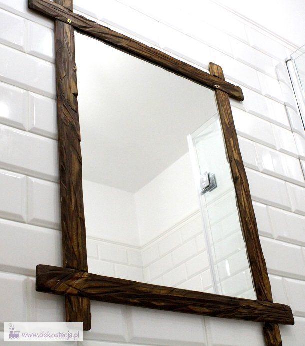 Jak zrobić drewnianą ramę lustra?  wooden mirror frame diy