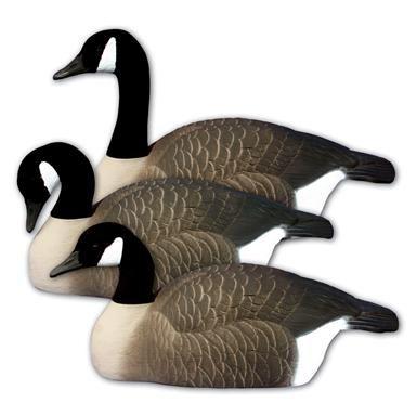 12 - Pk. Higdon® Oversize Half - Shell Canada Goose Decoys