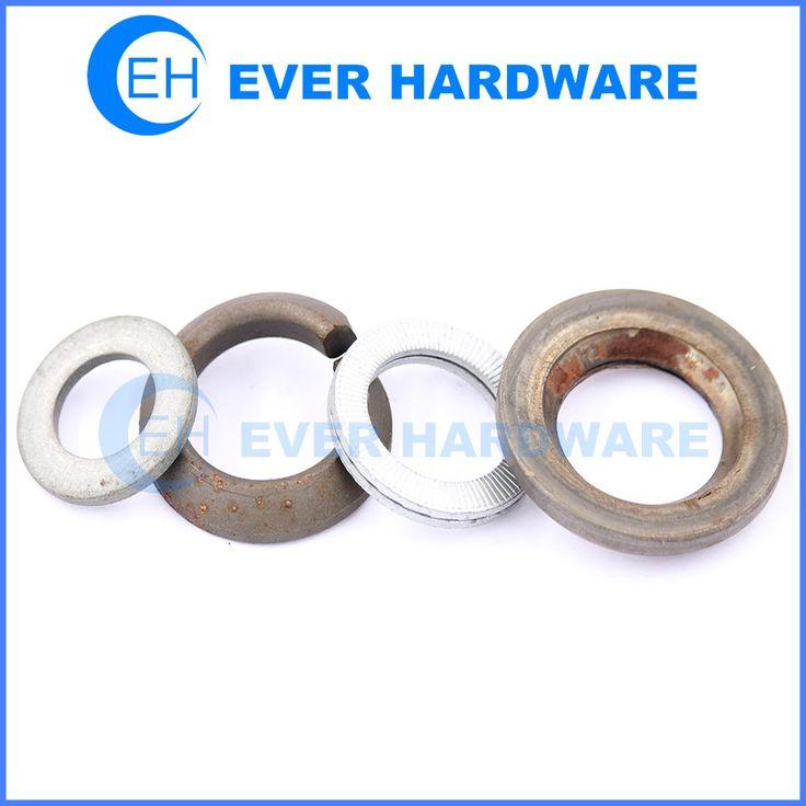 Copper Lock Washer : Metal lock washer flat spring belleville fender metric