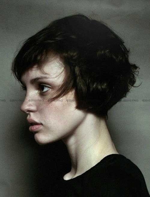 Wavy Bob Hairstyles Without Bangs : Best 25 french bob ideas on pinterest vintage bob fringe