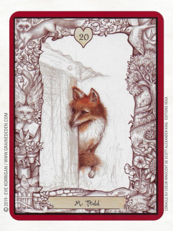 L Oracle Du Coeur Innocent De Scott Alexander King Tarot Cartes