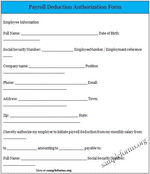 1000 images about Sample Forms – Payroll Form Templates