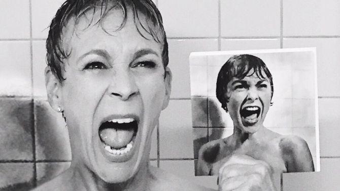 Jamie Lee Curtis Psycho Shower Scene