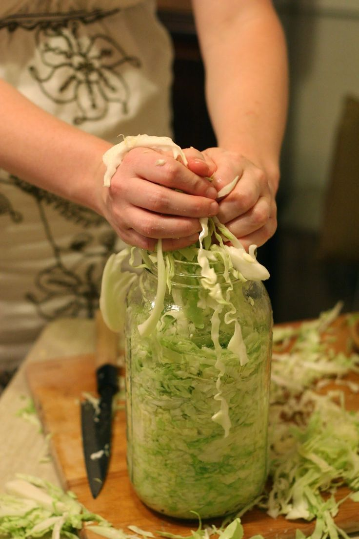 Whittled Down Life: Sauerkraut: Tasty, healthy, and a great first ferment