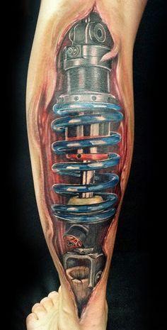 Biomechanical Tattoo (14)