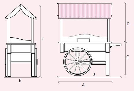 how to make a collapsible candy cart - Recherche Google